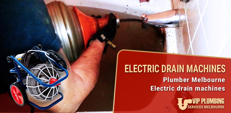 Electric Drain Machines Mount Eccles