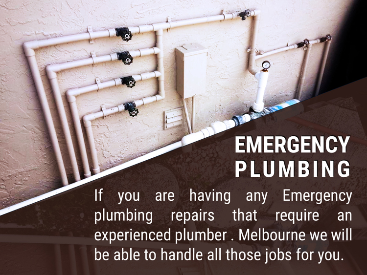 Expert Emergency plumbing Melbourne University