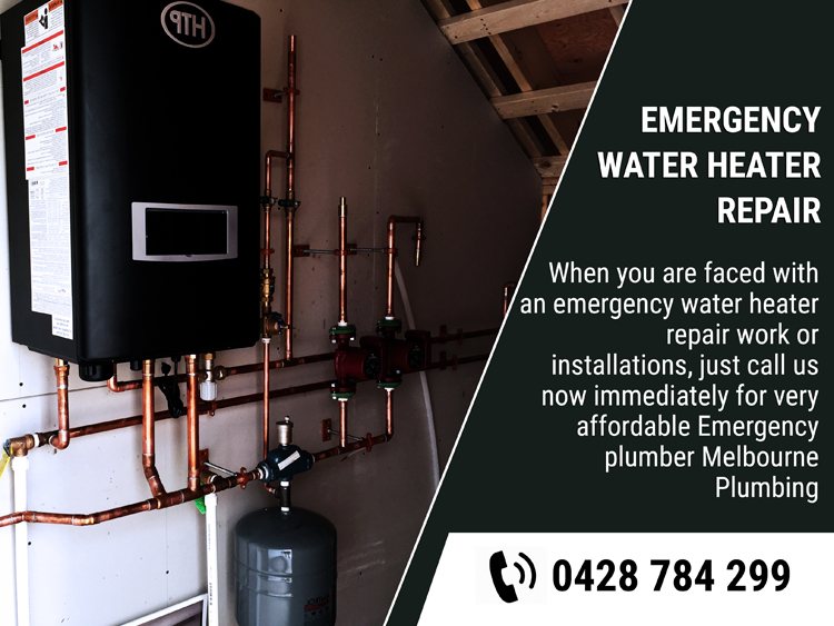 Emergency Water Heater Repair Collins Street East