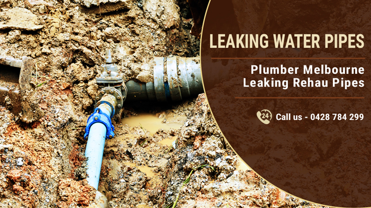Leaking Water Pipes Mount Burnett