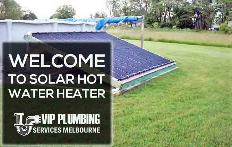 Solar Hot Water Heaters Melbourne