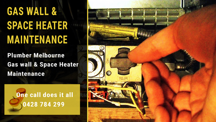 Gas wall & Space Heater Service Repair and Installation Melbourne