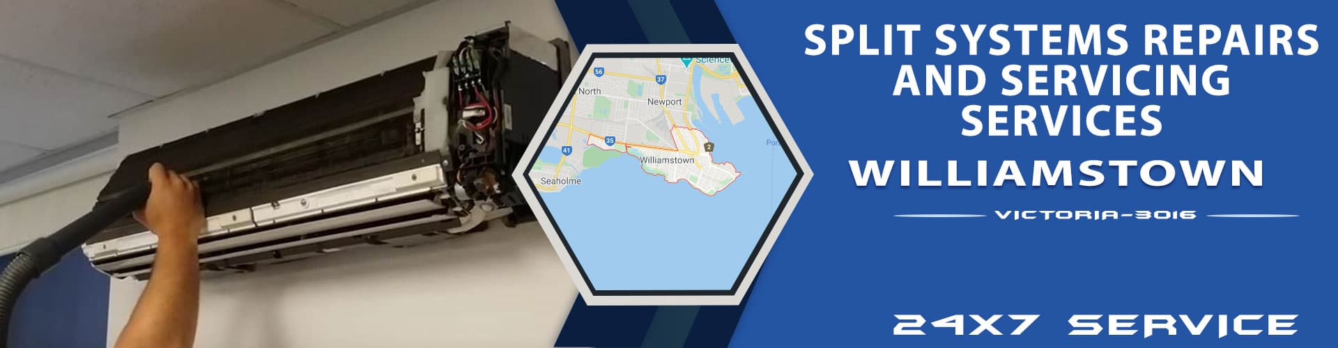 Split Systems Repairs and Servicing Williamstown