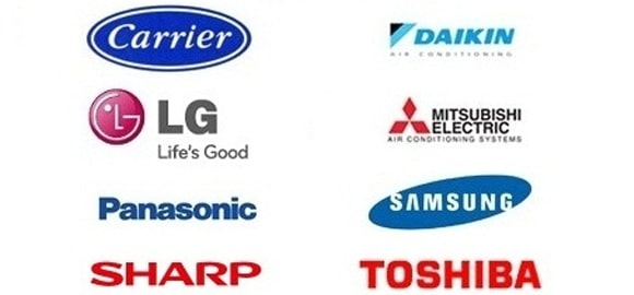 Famous Air Conditioning Brands
